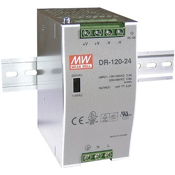Mean Well DR-120-24 (DR-120-24)