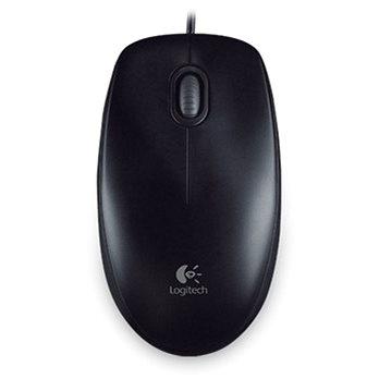 Logitech B100 Optical USB Mouse černá (910-003357)