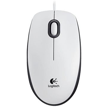 Logitech Mouse M100 bílá (910-005004)