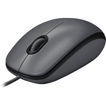 Logitech Mouse M100 šedá (910-005003) + ZDARMA Herní podložka A4tech X7-200MP