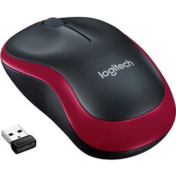 Logitech Wireless Mouse M185 červená (910-002240)