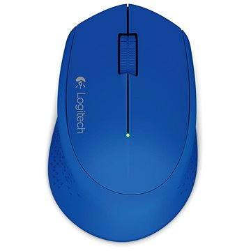 Logitech Wireless Mouse M280 modrá (910-004290) + ZDARMA Herní podložka A4tech X7-200MP