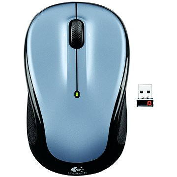 Logitech Wireless Mouse M325 Light silver (910-002334) + ZDARMA Herní podložka A4tech X7-200MP