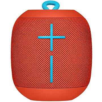 Logitech Ultimate Ears WONDERBOOM Fireball Red (984-000853) + ZDARMA Bezdrátový reproduktor Logitech Ultimate Ears WONDERBOOM Fireball Red