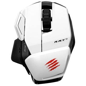 Mad Catz Office R.A.T. M bílá (MCB437170001/04/1)