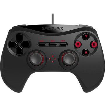SPEED LINK STRIKE NX Gamepad black (SL-650000-BK-01)