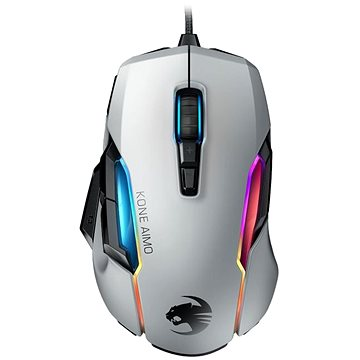 ROCCAT Kone AIMO - remastered, bílá (ROC-11-820-WE)
