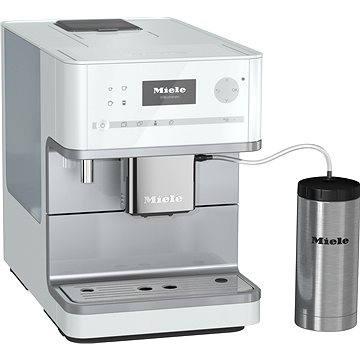 Miele CM 6350 bílá (29635010A) + ZDARMA Zrnková káva AlzaCafé 250g Čerstvě pražená 100% Arabica