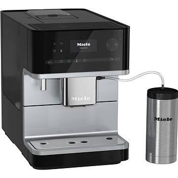 Miele CM 6350 černá (29635020A) + ZDARMA Zrnková káva AlzaCafé 250g Čerstvě pražená 100% Arabica