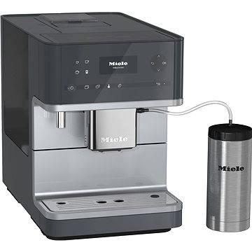 Miele CM 6350 šedá (29635030A) + ZDARMA Zrnková káva AlzaCafé 250g Čerstvě pražená 100% Arabica