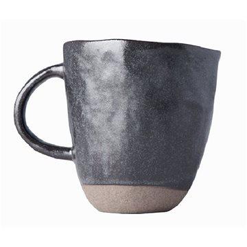 Made In Japan Hrnek s nepravidelným okrajem Tea Cup tmavě hnědý 250 ml (C7477)