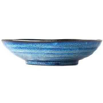 Made In Japan Velká mělká mísa Indigo Blue 21 cm 600 ml (C7955)