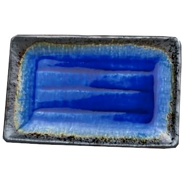 Made In Japan Talíř na sushi Cobalt Blue 21 x 13 cm (C7167)