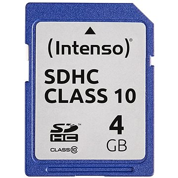 Intenso SD Card Class 10 4GB SDHC (3411450)