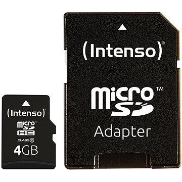 Intenso Micro SD Card Class 10 4GB (3413450)