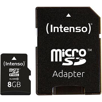 Intenso Micro SD Card Class 10 8GB (3413460)