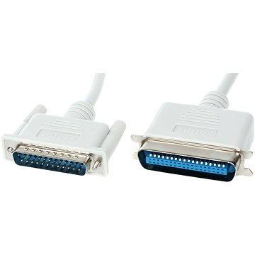 ROLINE Centronics k paralelní LPT tiskárně (Centronics 36 pinů <-> LPT DB-25), bitronics, 1.8m (11011018)