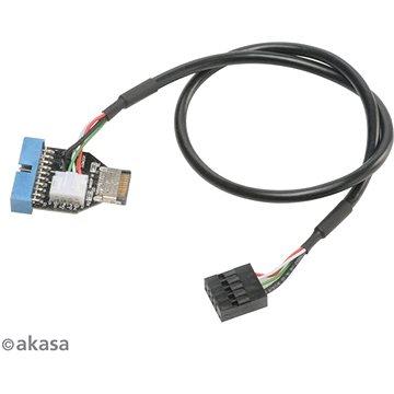 AKASA interní USB kabel (AK-CBUB38-40BK)