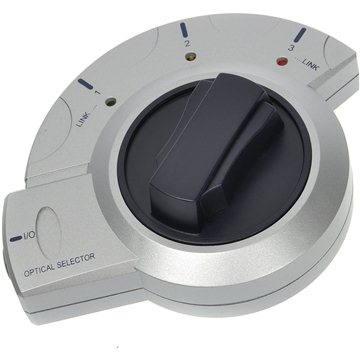 ROLINE přepínač optického audio signálu Toslink s aretací (12922050)