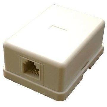 Datacom CAT3, 1x RJ11, na omítku (2305)