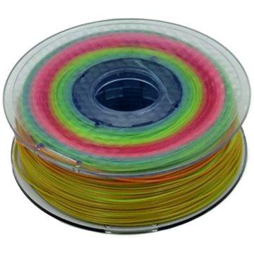 MKF PLA/Gradient 1.75mm 1kg - mix duhových barev (06-000810)
