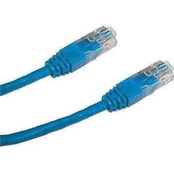 Datacom CAT5E UTP modrý 1m (1513)