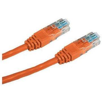 Datacom CAT5E UTP oranžový 1m (1516)