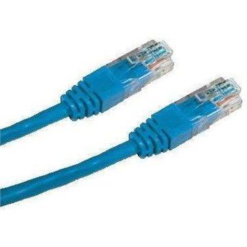 Datacom CAT6, UTP, 1m, modrý (15913)