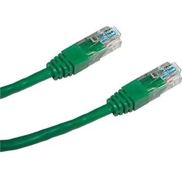 Datacom CAT5E UTP zelený 3m (1534)