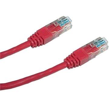Datacom CAT5E UTP červený 5m (1542)