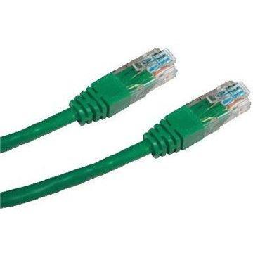 Datacom CAT5E UTP zelený 0.25m (1494)