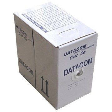Datacom drát, CAT5E, UTP, LSOH, 305m/box (1105)