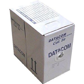 Datacom, drát, CAT5E, UTP, venkovní, 305m/box (1103)