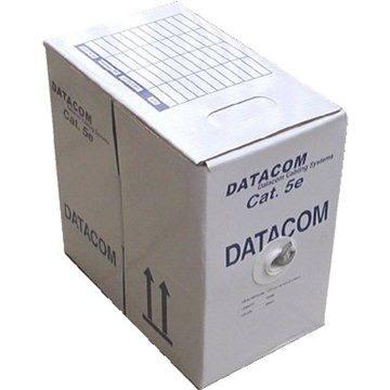 Datacom, drát, CAT5E, FTP, PE venkovní, 305m/box (1203)