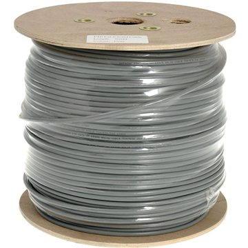 Datacom, drát, CAT6, FTP, PVC, 305m/cívka (1205)