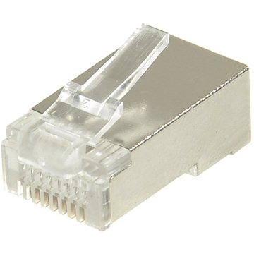 10-pack,Datacom, RJ45, CAT5E, STP, 8p8c, stíněný, neskládaný, na drát (4126)