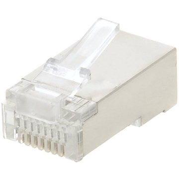 100-pack,Datacom, RJ45, CAT5E, STP, 8p8c, stíněný, neskládaný, na drát (9275)