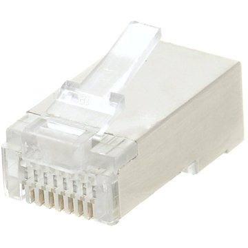 Datacom, 10-pack, RJ45, CAT5E, STP, 8p8c, stíněný, neskládaný, na licnu (lanko) (4156)