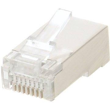 100-pack,Datacom, RJ45, CAT5E, STP, 8p8c, stíněný, neskládaný, na licnu (lanko) (4155)