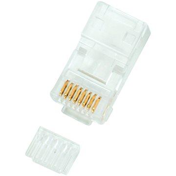 10-pack,Datacom, RJ45, CAT6, UTP, 8p8c, nestíněný, skládaný, na drát (9257)