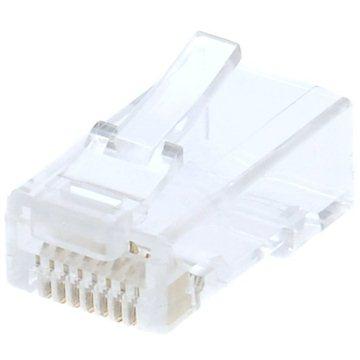 100-pack,Datacom RJ45, CAT6, UTP, 8p8c, nestíněný, skládaný, na drát (4130)