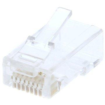 10-pack,Datacom, RJ45, CAT6, UTP, 8p8c, nestíněný, skládaný, na licnu (lanko) (4161)