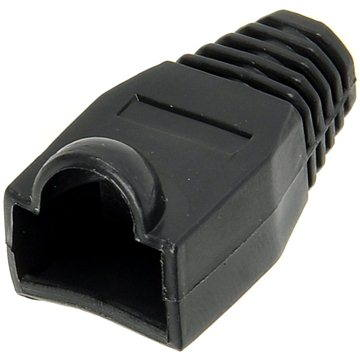 10-pack, plastová, černá,OEM, RJ45 (9261)