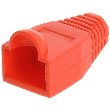 10-pack, plastová, červená,Datacom, RJ45 (9262)