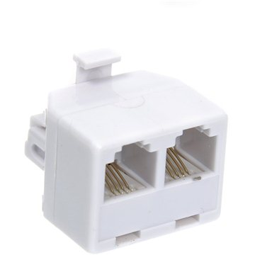 OEM RJ11 CAT3 6p4c (Male --> 2x Female) (12921266)