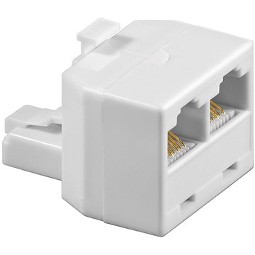 OEM RJ45 CAT3 8p8c (Male --> 2x Female) (12921186)