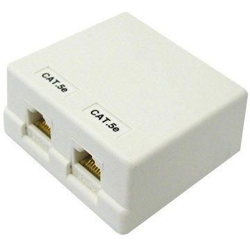 Datacom CAT5E UTP 2x RJ45 na omítku (2312)