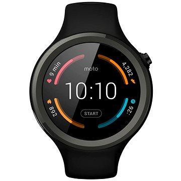 Chytré hodinky Motorola MOTO 360 Sport Black (SM4323AE7T1)