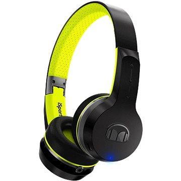 Monster iSport Freedom Bluetooth Wireless On Ear V2 černo-zelená (137097-00)