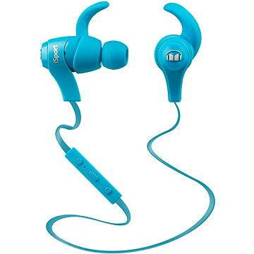 MONSTER iSport Bluetooth Wireless In Ear modrá (128659-00)